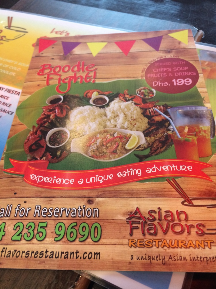 Day 94: Asian Flavors Restaurant, Dubai (6/6)