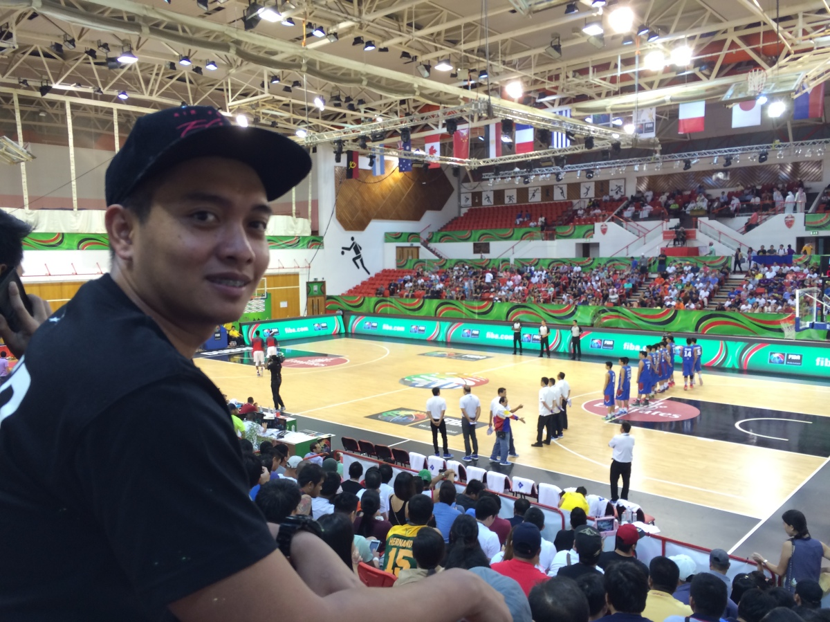 Day 100: FIBA U17 World Championship in Dubai (Philippines vs. USA)