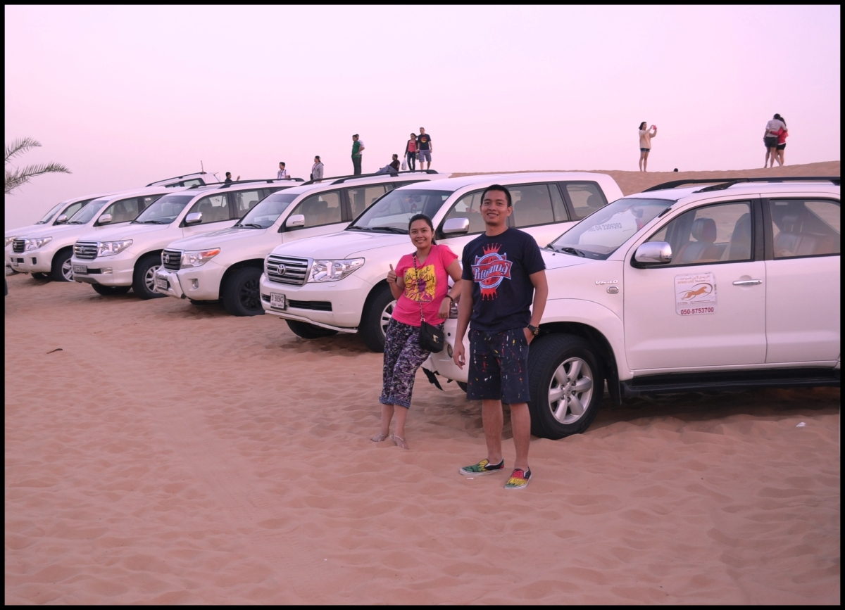 Our Dubai Desert Safari Story