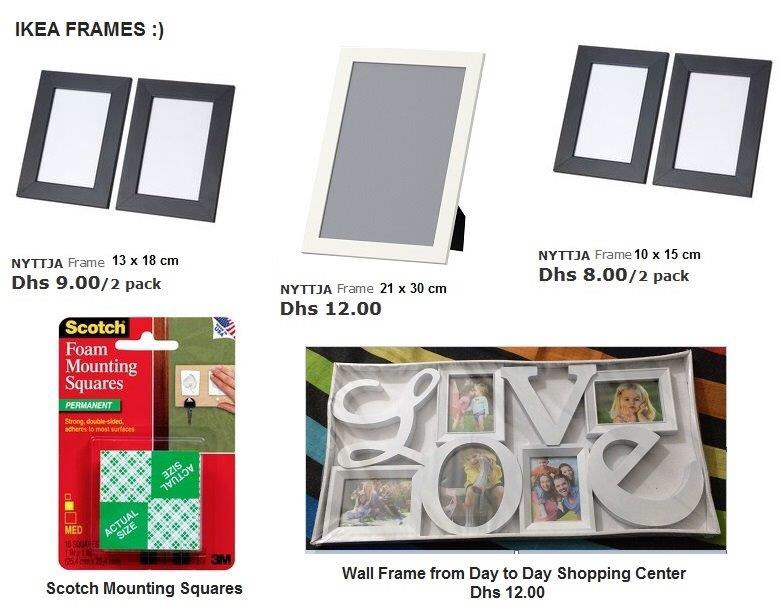 How to Decorate Your Wall Using IKEA Picture Frames – Blessed Days ...