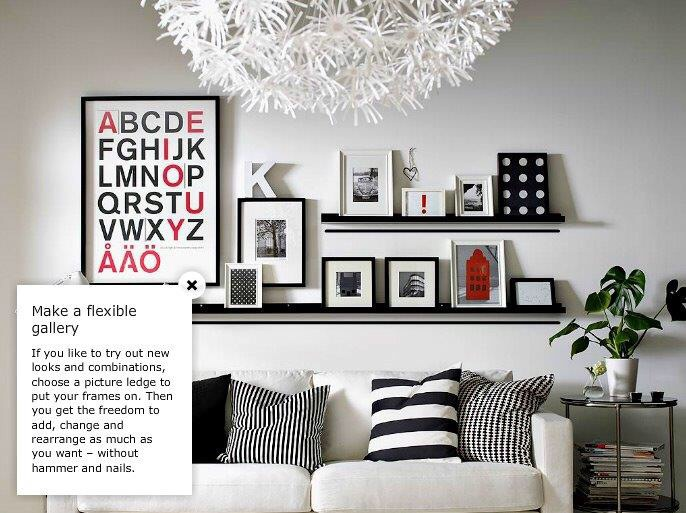 Picture Frame Wall Ideas how to decorate your wall using ikea picture frames – blessed days