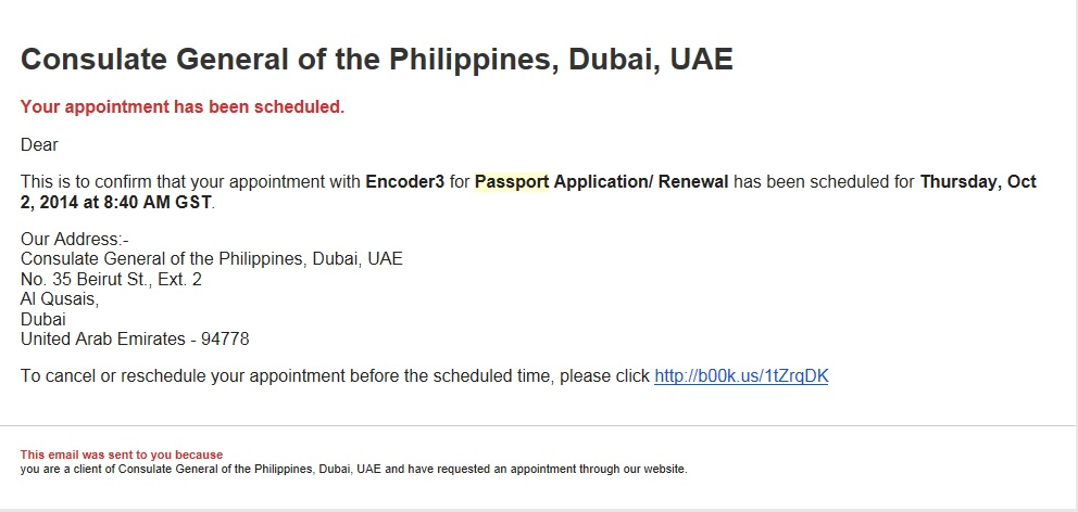 Authorization Letter To Collect Passport From Vfs Dubai