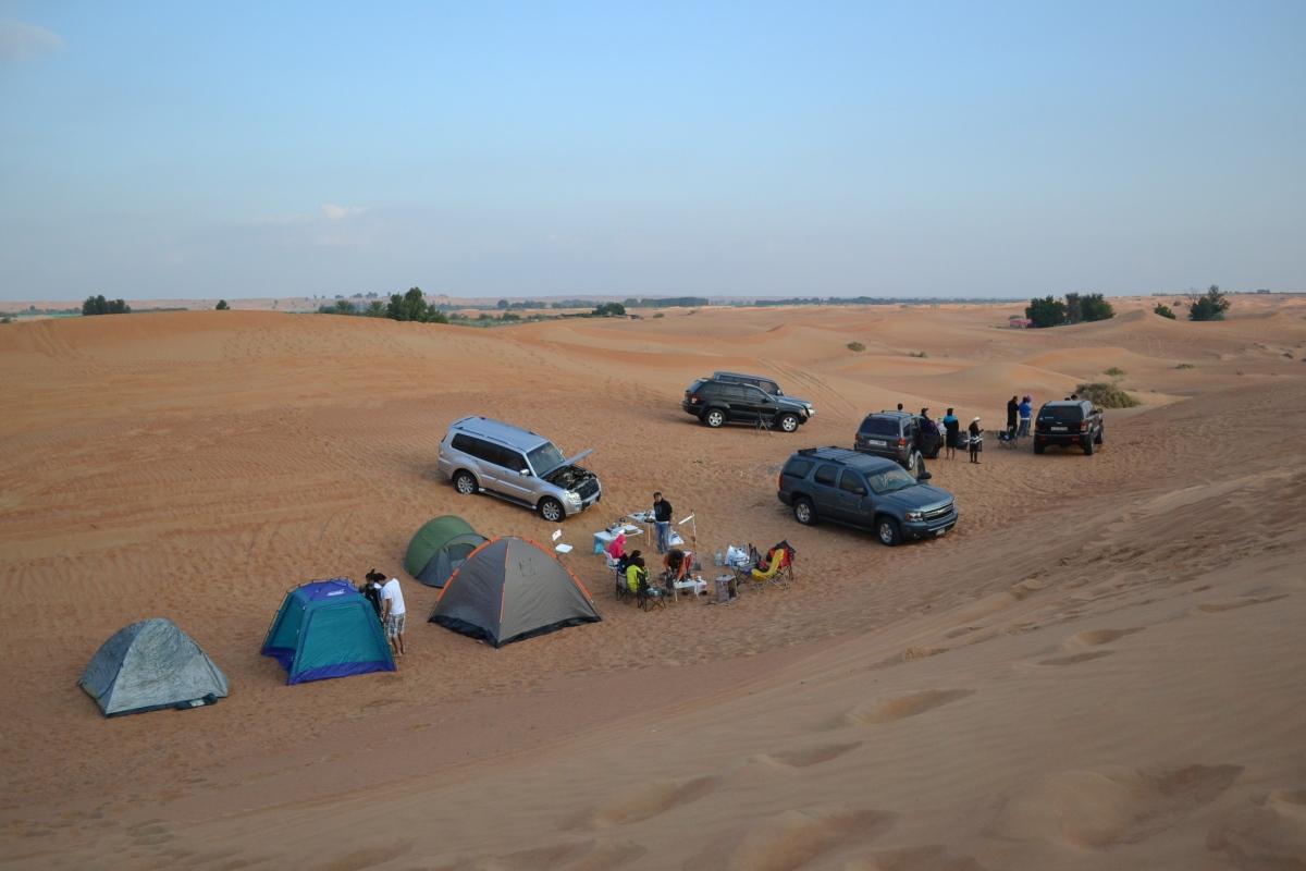 Dubai Desert Camping, Pinoy Style! (Part 1)