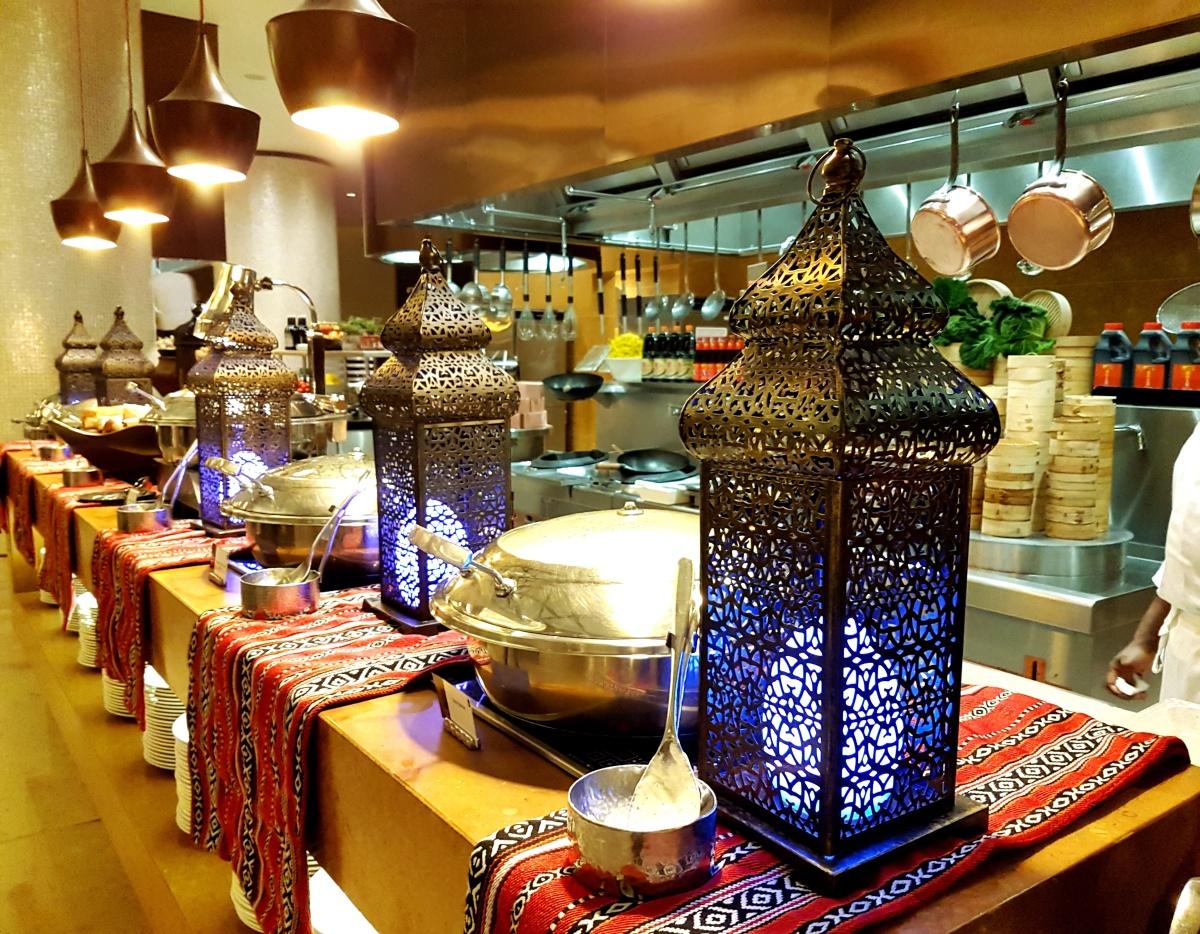 Iftar Buffet at Liwan Restaurant, Al Ghurair Rayhaan